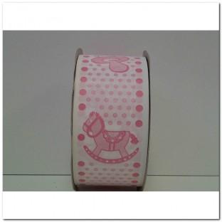CINTA ENFANT DOBLE CARA 50X50 (ROSA)