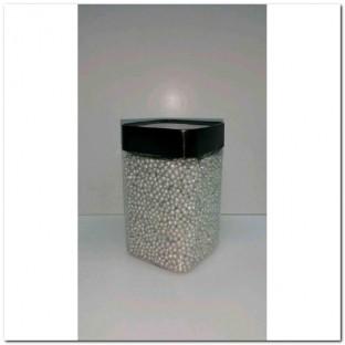 METALLIC GLASS PEARLS 3-3,5 MM.350ML. PERLA