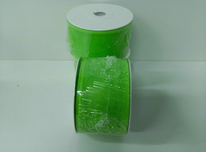 CINTA NA VERDE LIMON 65MM * 25MTS