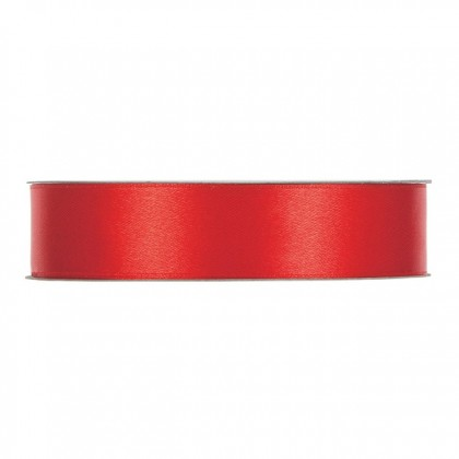 CINTA RASO SINGLE FACE MM25X50MT RED