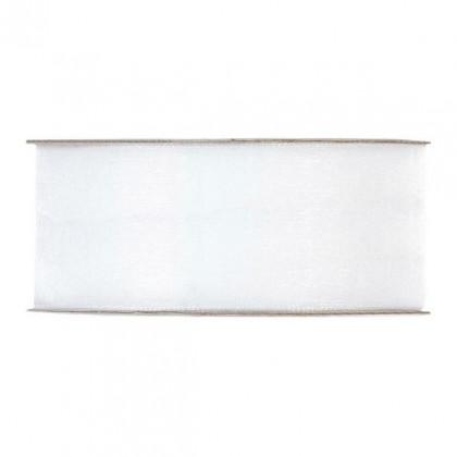 CINTA ORGANZA MM40X50MT WHITE