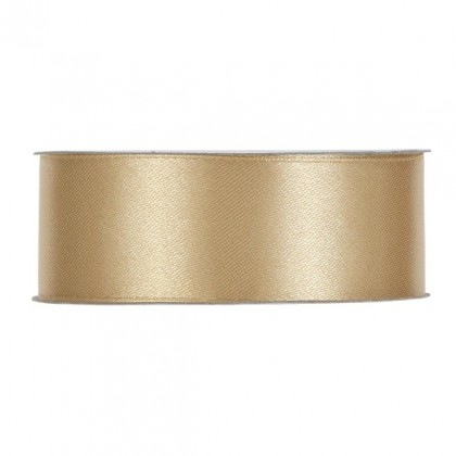 CINTA RASO SINGLE FACE MM40X50MT LIGHT GOLD