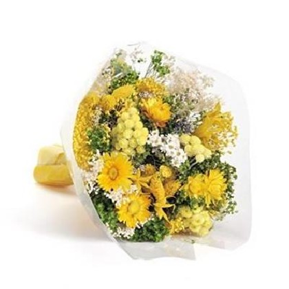 BOUQUET FLOWERS FANTASY YELLOW