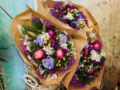BOUQUET FLOWERS FANTASY LILAC