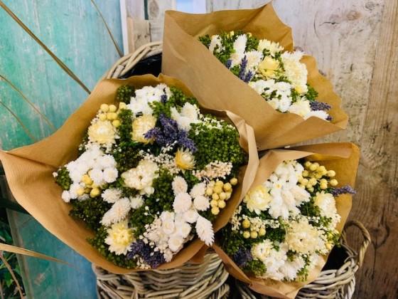 BOUQUET FLOWERS FANTASY BLANCO